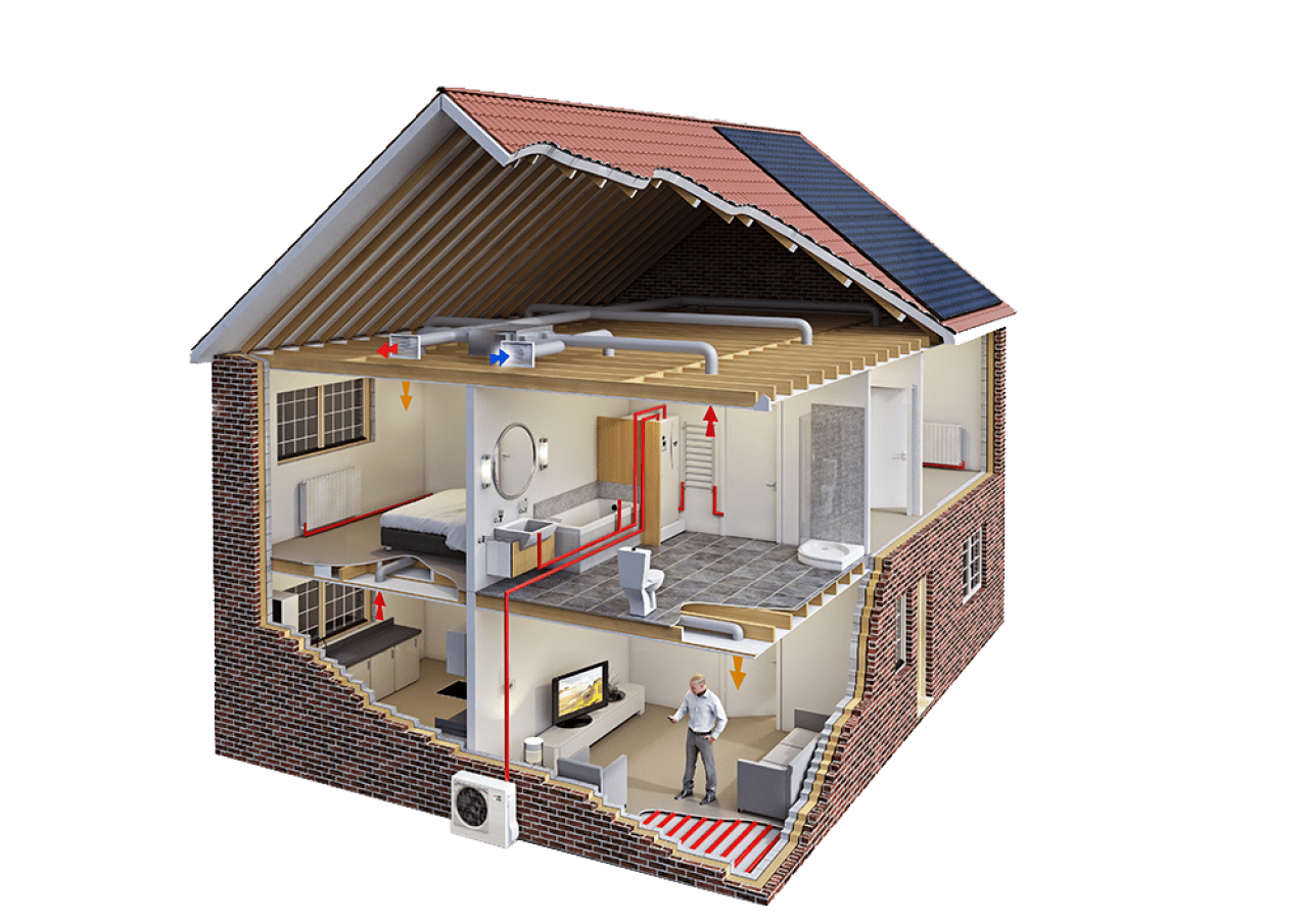 How air source heat pumps work